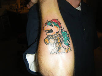 Bowser tattoo by 2corpses