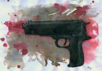 GunShot by i-UnKnown