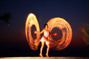 fire dance II by tamergunal