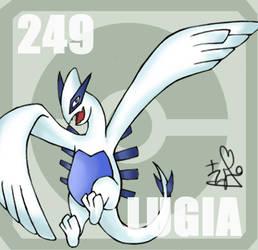 249 Lugia by Pokedex
