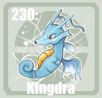 230 Kingdra by Pokedex