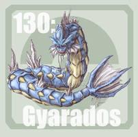 130 Gyarados by Pokedex
