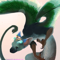 Trico and Jack by Gem1ny