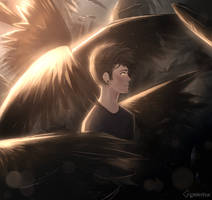 surrounded by darkness by Gem1ny