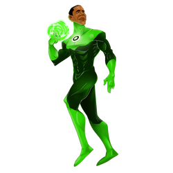 Mr.Obama as Green Lantern by Feralita