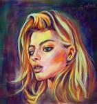 Margot Rubbie by zubair43