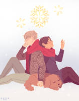 the winning snowflake by ruui-sama