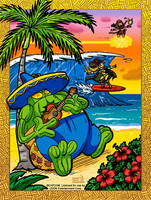 Capcom Fighting Tribute: Hawaii vacation 2015 by jonjmurakami