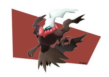 Pokemon #491 Darkrai by ButterLux