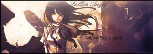 Fallen Angel- Destruction is my only thing... by dejaaaaaaa