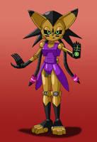 Mecha Nicole by Sonic808