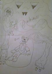 Monkey Party Invasion! by Bigw-Gamer-Dude