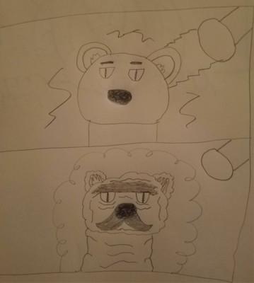 Bear age progression by Bigw-Gamer-Dude