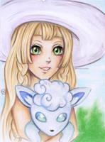 Lillie and Shiron by Khallandra