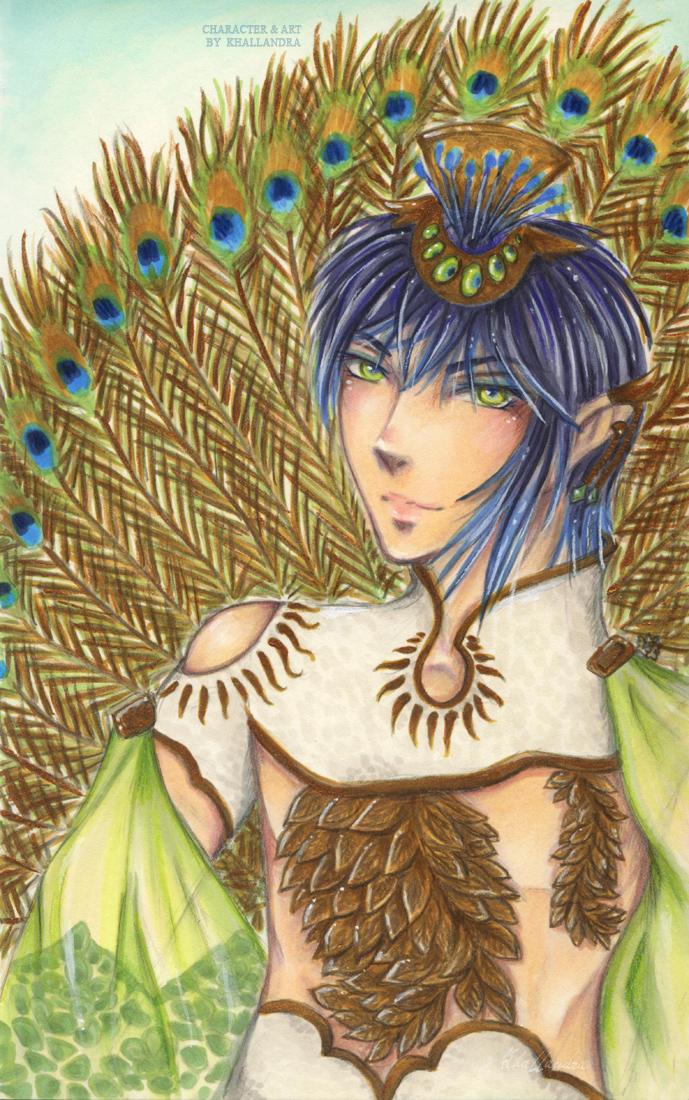 Peacock King Regalia by Khallandra