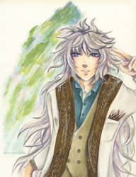 Casual Merlin by Khallandra