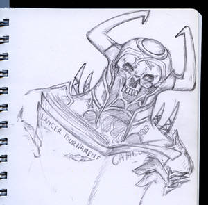 Sketch Example by Khallandra