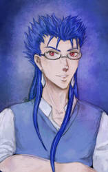 Caster Cu Glasses by Khallandra