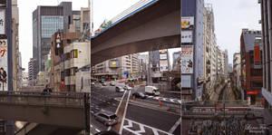Shibuya in grey by LunaFeles