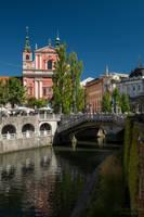 Bridges of Ljubljana by LunaFeles