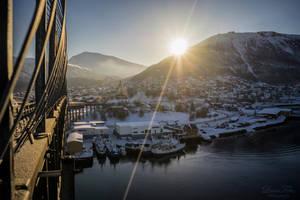 Sunrise in Tromso by LunaFeles