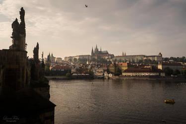 Hradshin in Prague by LunaFeles
