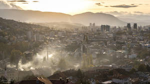 evening in Sarajevo by LunaFeles
