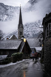 twilight in Hallstatt by LunaFeles