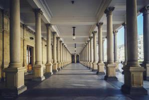 Karlovy Vary - Mlynska kolonada by LunaFeles