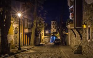 Plovdiv at night by LunaFeles