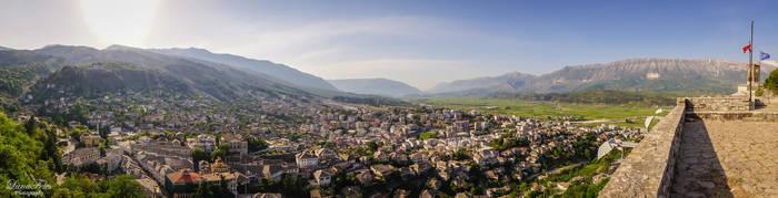 Gjirokastra Panorama by LunaFeles