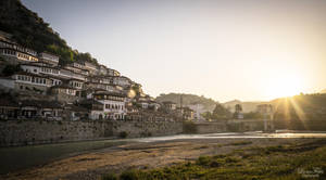 Berat - sunrise. by LunaFeles