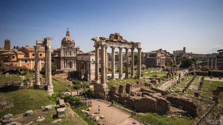 Forum Romanum by LunaFeles