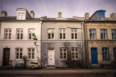 houses of Copenhagen by LunaFeles
