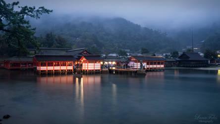 Itsukushima Shrine by LunaFeles
