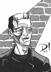 Frankenstein's Monster by spidertour02