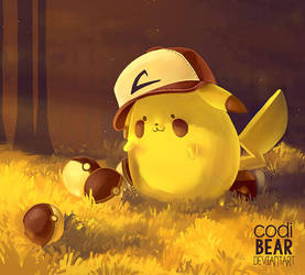 Pikachu by CodiBear