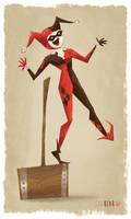 Harley Quinn by CodiBear