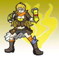 Yang Xiao Long by ObsidianWolf7