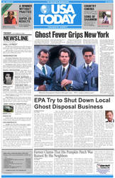 Ghostbusters USA Today by egocenter