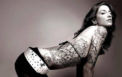 Rib Tattoo by SylviaX
