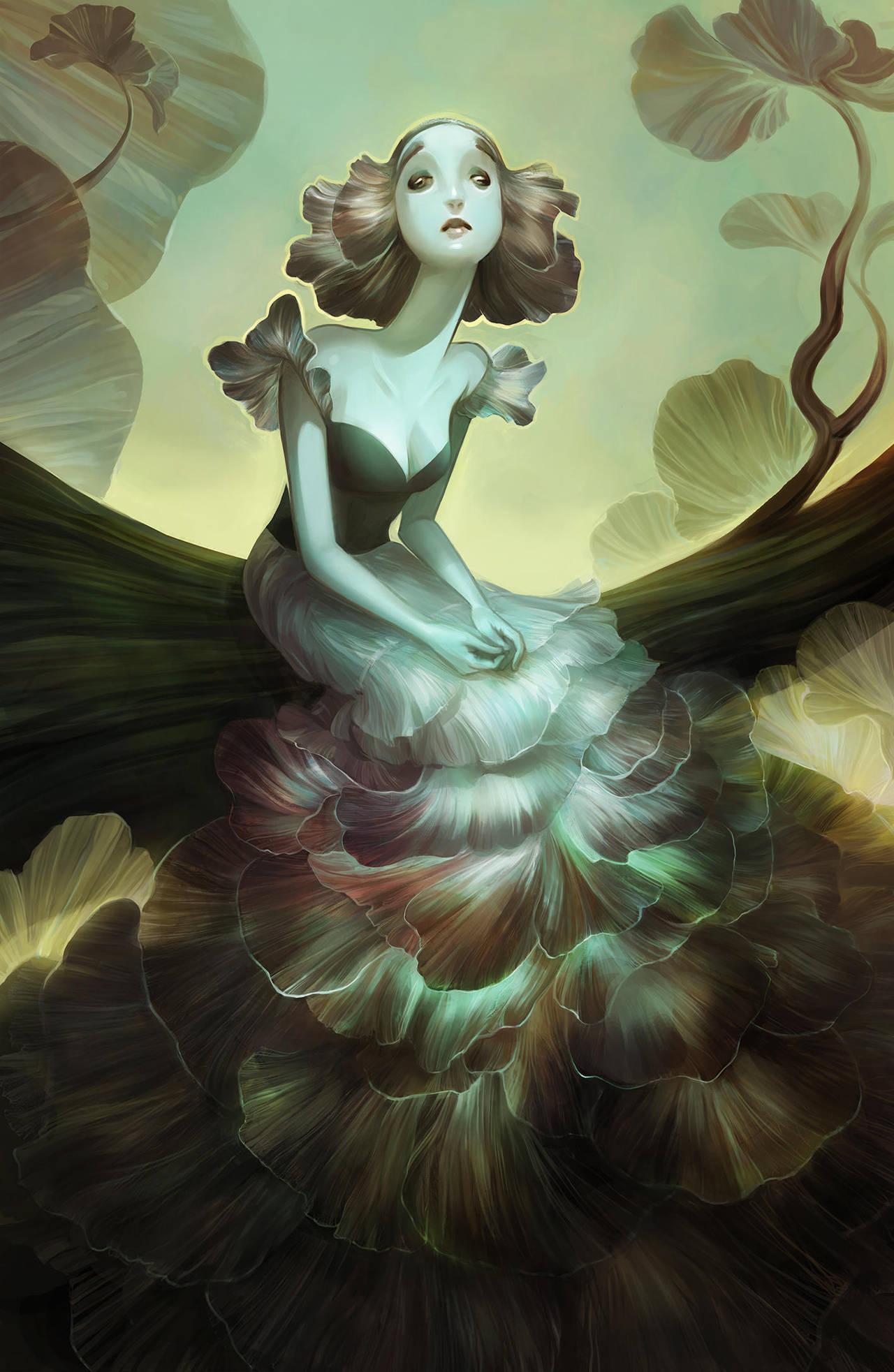 The Grey Lady by SillyJellie