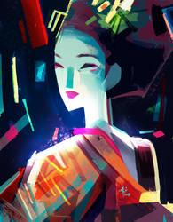 Geisha by SillyJellie