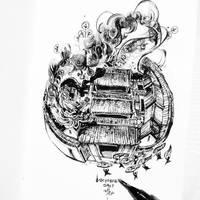 Inktober7 - Descendants by SillyJellie