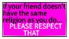 Respect their Faith F2U by treystar679X