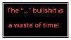 F2U: Bullshit by treystar679X