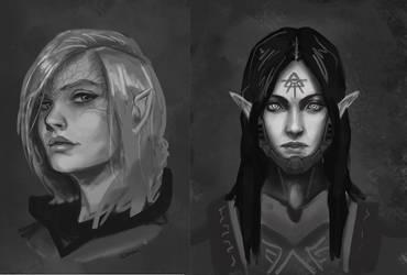 Drawthread Elves by L3monJuic3