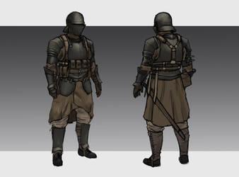 Republic Medium Infantry by L3monJuic3