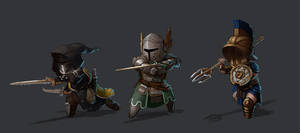 For Honor | Peacekeeper, Warden, Gladiator by L3monJuic3