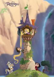 Disney's Chibis TANGLED by princekido
